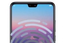 Huawei P20 parmak izi ekleme