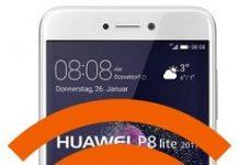 Huawei P8 Lite 2017 ağ ayarlarına sıfırlama