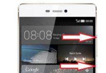 Huawei P8 kurtarma modu