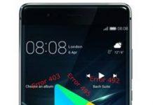 Huawei P9 Google Play hataları