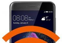 Huawei P9 Lite 2017 ağ ayarlarına sıfırlama