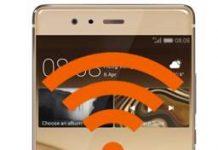 Huawei P9 Plus ağ ayarlarına sıfırlama