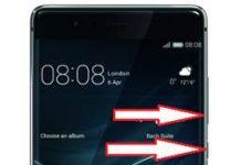 Huawei P9 ekran görüntüsü alma