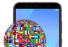 Huawei Y6 2018 dil değiştirme