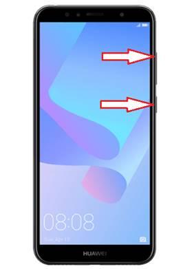 Huawei Y6 2018 kurtarma modu