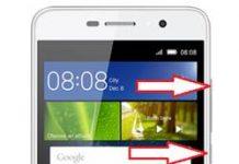 Huawei Y6 Pro kurtarma modu