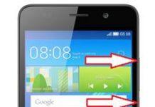 Huawei Y6 kurtarma modu