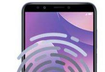 Huawei Y7 2018 parmak izi ekleme