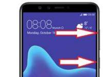 Huawei Y9 2018 kurtarma modu