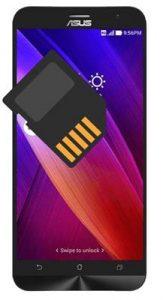 Asus Zenfone 2 SD kart biçimlendirme