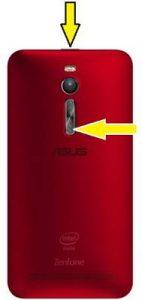 Asus Zenfone 2 ekran görüntüsü alma