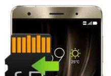 Asus Zenfone 3 Deluxe ZS570KL Uygulamaları Hafıza Karta Taşıma