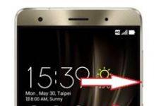 Asus Zenfone 3 Deluxe ZS570KL ekran görüntüsü alma
