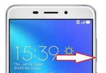 Asus Zenfone 3 Laser ZC551KL ekran görüntüsü alma