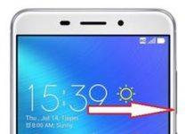 Asus Zenfone 3 Laser ZC551KL kurtarma modu