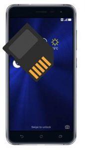 Asus Zenfone 3 ZE552KL SD kart biçimlendirme