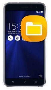 Asus Zenfone 3 ZE552KL dosya gizleme