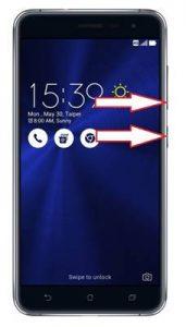 Asus Zenfone 3 ZE552KL ekran görüntüsü alma