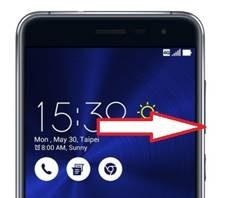 Asus Zenfone 3 ZE552KL güvenli mod