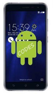 Asus Zenfone 3 ZE552KL kodlar