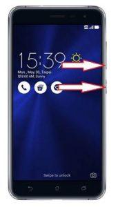 Asus Zenfone 3 ZE552KL kurtarma modu