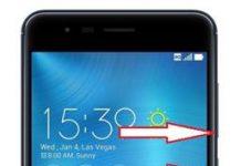 Asus Zenfone 3 Zoom kurtarma modu