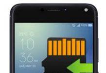 Asus Zenfone 4 Max ZC520KL Uygulamaları Hafıza Karta Taşıma