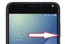 Asus Zenfone 4 Max ZC520KL ekran görüntüsü alma
