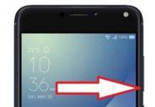 Asus Zenfone 4 Max ZC520KL güvenli mod