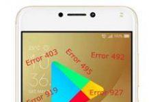 Asus Zenfone 4 Max ZC554KL Google Play Store hataları