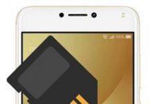 Asus Zenfone 4 Max ZC554KL SD kart biçimlendirme