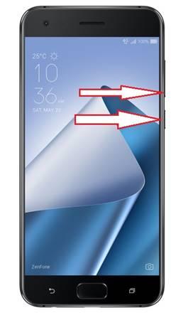 Asus Zenfone 4 Pro ZS551KL kurtarma modu