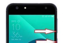 Asus Zenfone 4 Selfie ZD553KL ekran görüntüsü alma