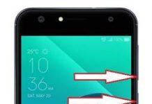 Asus Zenfone 4 Selfie ZD553KL kurtarma modu