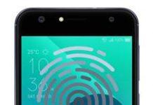 Asus Zenfone 4 Selfie ZD553KL parmak izi ekleme