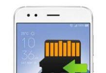Asus Zenfone 4 ZE554KL Uygulamaları Hafıza Karta Taşıma