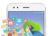 Asus Zenfone 4 ZE554KL veri yedekleme