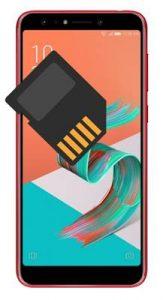Asus Zenfone 5 Lite ZC600KL SD kart biçimlendirme