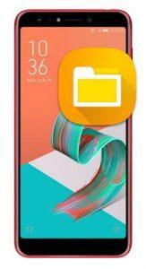 Asus Zenfone 5 Lite ZC600KL dosya gizleme