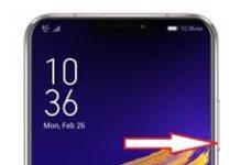 Asus Zenfone 5 ZE620KL ekran görüntüsü alma