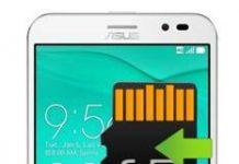 Asus Zenfone Go ZB552KL Uygulamaları Hafıza Karta Taşıma