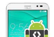 Asus Zenfone Go ZB552KL geliştirici seçenekleri