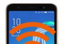 Asus Zenfone Live L1 ZA550KL ağ ayarları sıfırlama