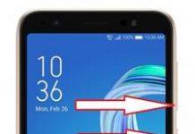 Asus Zenfone Live L1 ZA550KL ekran görüntüsü alma