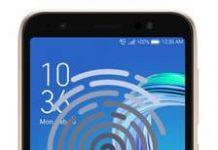 Asus Zenfone Live L1 ZA550KL parmak izi ekleme