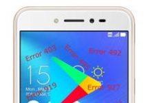 Asus Zenfone Live ZB501KL Google Play Store hataları