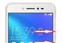 Asus Zenfone Live ZB501KL ekran görüntüsü alma
