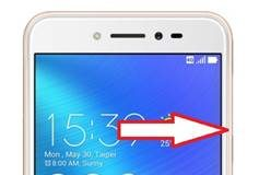 Asus Zenfone Live ZB501KL güvenli mod