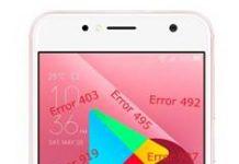 Asus Zenfone Live ZB553KL Google Play Store hataları