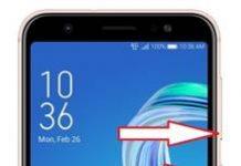 Asus Zenfone Max M1 ZB555KL ekran görüntüsü alma